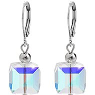 JSB Bijoux Cubes with Swarovski® Crystal Stones 61400911ab - Earrings