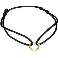 PRAQIA Zlaté srdce KA7009 (Zlato 585/1000, 0,17 g) - Náramek