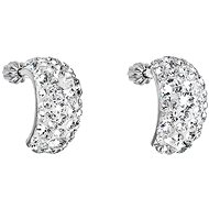 Krystal náušnice dekorované krystaly Swarovski 31164.1 (925/1000, 4,5 g) - Náušnice