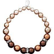 EVOLUTION GROUP Brown perlový náramek 33016.3 - Náramek
