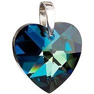 EVOLUTION GROUP Bermuda blue přívěsek dekorovaný krystaly Swarovski 34004.5 (925/1000; 10,8 g) - Přívěsek