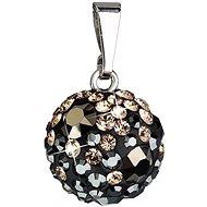 EVOLUTION GROUP Colorado přívěsek koule dekorovaný krystaly Swarovski 34080.4 (925/1000; 1,3 g) - Přívěsek