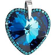 EVOLUTION GROUP Bermuda blue přívěsek dekorovaný krystaly Swarovski 34138.5 (925/1000; 12,3 g) - Přívěsek