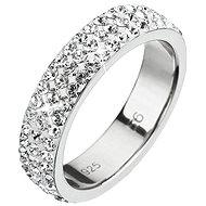 EVOLUTION GROUP Prsten dekorovaný krystaly Swarovski Krystal 35001.1 (Ag925/1000; 2,5 g) vel. 48 - Prsten