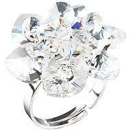 EVOLUTION GROUP Prsten dekorovaný krystaly Swarovski Krystal 35012.1 (925/1000; 6,6 g) vel. 53-60 - Prsten