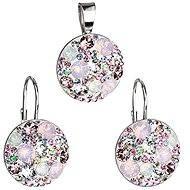 EVOLUTION GROUP Magic rose souprava dekorovaná krystaly Swarovski (Ag925/1000; 6,3 g) - Dárková sada šperků