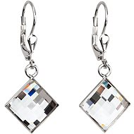EVOLUTION GROUP Mix náušnice dekorované krystaly Swarovski 31136.3 (925/1000, 1 g) - Náušnice