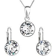 Crystal Set Decorated Swarovski Crystals 39140.1 (925/1000; 2.6g) - Jewellery Gift Set