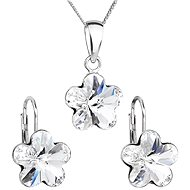 SWAROVSKI ELEMENTS Krystal Set Decorated Crystals Swarovski 39143.1 (925/1000; 2.5g) - Jewellery Gift Set