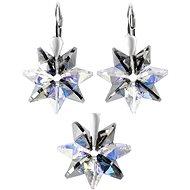 EVOLUTION GROUP Silver night soupravy vyrobené s krystaly Swarovski® 39092.5 (Ag925/1000, 2 g) - Dárková sada šperků