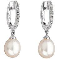 EVOLUTION GROUP 21002.1 stříbrné perlové náušnice - Náušnice