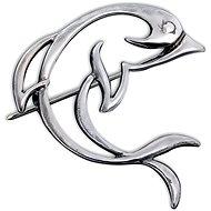 Brož stříbrná, delfín (925/1000, 3,1 g) - Brož