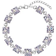 EVOLUTION GROUP Violet dekorovaný krystaly Swarovski 33047.3 (925/1000, 7 g, fialový)