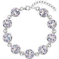 EVOLUTION GROUP 33048.3 violet bracelet decorated with Swarovski crystals - Bracelet
