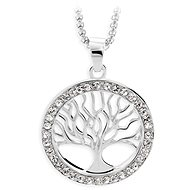 JSB Bijoux Necklace Tree of Life with Swarovski Crystal Stones - Necklace