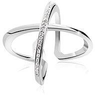 JSB Bijoux Stříbrný prsten Kříž Extramix (925/1000; 4,46 g) - Prsten