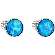 EVOLUTION GROUP 11001.3 Blue Synthetic Opal Swarovski® (925/1000, 1g) - Earrings