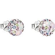 EVOLUTION GROUP 31136.3 magic rose náušnice dekorované krystaly Swarovski® (925/1000, 1 g) - Náušnice
