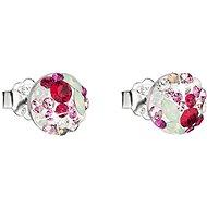 EVOLUTION GROUP 31136.3 sweet love náušnice dekorované krystaly Swarovski® (925/1000, 1 g) - Náušnice