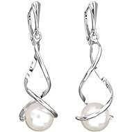 EVOLUTION GROUP 31224.1 white earrings decorated with Swarovski® pearls (925/1000, 4.5 g) - Earrings
