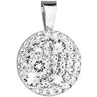 EVOLUTION GROUP 34225.1 kulatý dekorovaný krystaly Swarovski® (925/1000, 1 g, bílý)