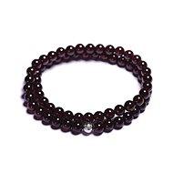 LAVALIERE Men's Bead Wrap Bracelet - Red Garnet AAAA - 455457-S-L - Bracelet