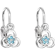 EVOLUTION GROUP 11171.3 Blue Zircon (925/1000, 1.2g) - Earrings