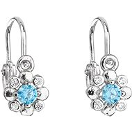 EVOLUTION GROUP 11174.3 Blue Zircon (925/1000, 1g) - Earrings