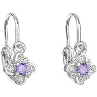 EVOLUTION GROUP 11175.3 Purple Zircon (925/1000, 1g) - Earrings