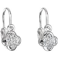 EVOLUTION GROUP 11177.1 White Zircon (925/1000, 1.2g) - Earrings