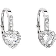 EVOLUTION GROUP 11204.1 White Zircon (925/1000, 1.5g) - Earrings