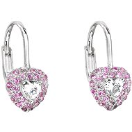 EVOLUTION GROUP 11216.3 Pink Zircon (925/1000, 1g) - Earrings