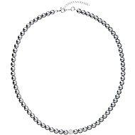 EVOLUTION GROUP 32063.3 perlový, dekorovaný krystaly Swarovski® ( 925/1000, 1 g, šedý) - Náhrdelník