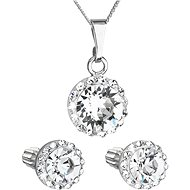 EVOLUTION GROUP 31252.1 Decorated with Swarovski® Crystals (Silver 925/1000; 3g) - Jewellery Gift Set