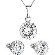 EVOLUTION GROUP 31252.1 dekorovaná krystaly Swarovski® (stříbro 925/1000; 3 g) - Dárková sada šperků