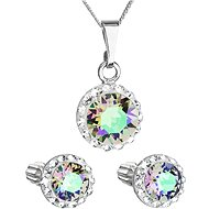 EVOLUTION GROUP 39352.5 Paradise Shine with Swarovski® Crystals (Silver 925/1000; 3g) - Jewellery Gift Set