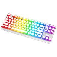SPC Gear GK630K Onyx White Tournament Kailh Red - US - Herní klávesnice