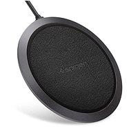 Spigen Essential F308W Wireless Fast Charger Black - Bezdrátová nabíječka