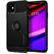 Spigen Rugged Armor Black iPhone 11 - Mobile Case