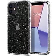 Spigen Liquid Crystal Glitter Clear iPhone 12 Mini - Kryt na mobil