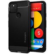 Spigen Rugged Armor Black Google Pixel 5 - Kryt na mobil