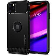 Spigen Rugged Armor Black iPhone 11 Pro - Kryt na mobil