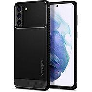 Spigen Rugged Armor Black Samsung Galaxy S21 - Kryt na mobil