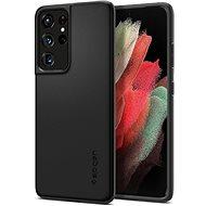 Spigen Thin Fit Black Samsung Galaxy S21 Ultra - Kryt na mobil