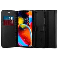 Spigen Wallet S Black iPhone 11 Pro Max - Kryt na mobil