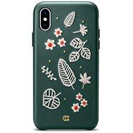 Spigen CYRILL Portland Case Forest green iPhone XS Max - Kryt na mobil