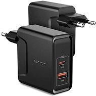 Spigen PowerArc ArcStation White USB-C PD 3.0 20W - Nabíječka do sítě