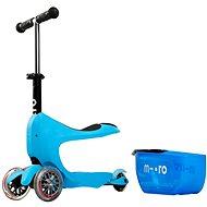 Micro Mini 2go Deluxe modrá  - Dětská koloběžka