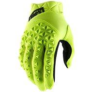 Cyklistické rukavice 100% AIRMATIC USA žlutá/černá