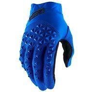 Cyklistické rukavice 100% AIRMATIC USA modrá/černá